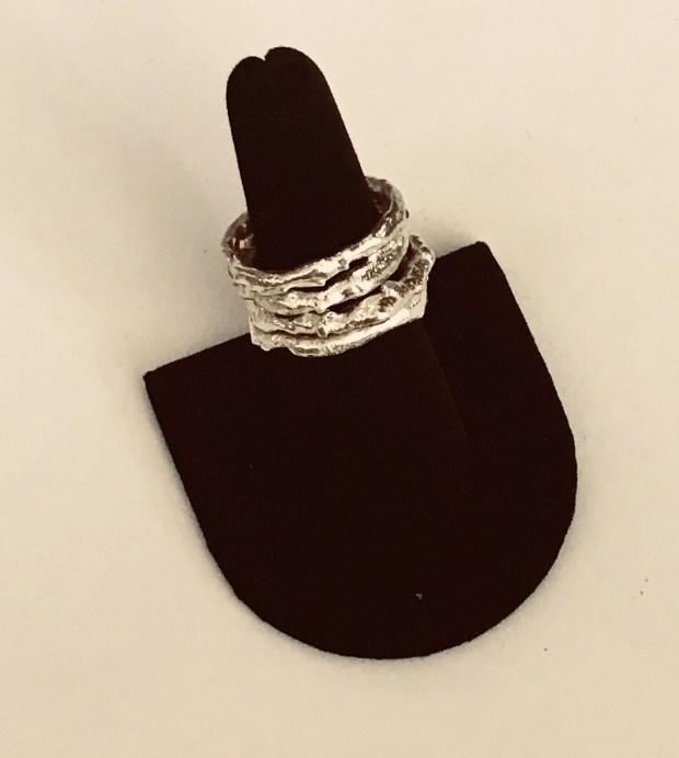 Handmade molten rings