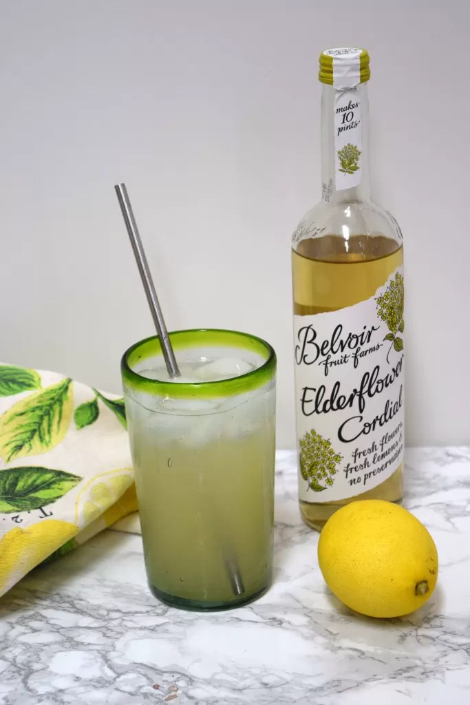 Recipes for Flavored Lemonade using elderflower syrup, ginger syrup and cucumber slices.  A great way to give your traditional lemonade a new twist.