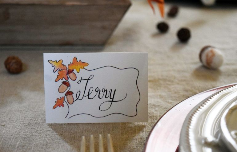 terry placecard