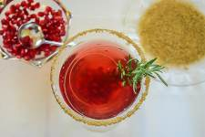 Recipes for and suggestions on how to create a fabulous martini bar, perfect for holiday, Christmas or anytime entertaining