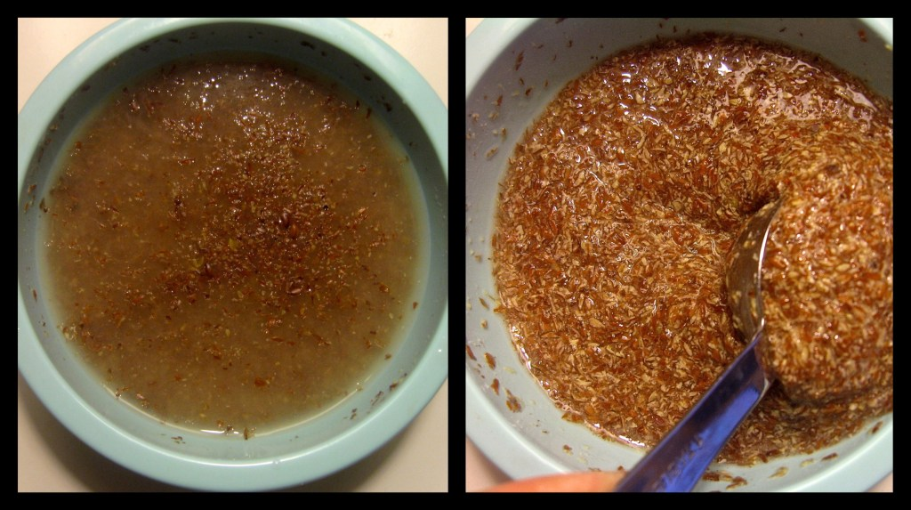 flaxseed meal or ground flaxseeds as an egg replaces in vegan baked goods