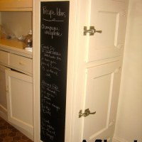 {Crafty} Contact paper chalkboard