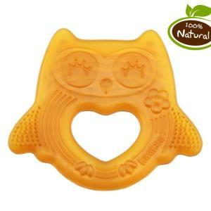 Haakaa Happy Owl Natural Rubber Teether