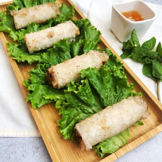 Authentic Vietnamese fried spring rolls recipe – Chả Giò