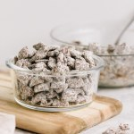 Low Sugar Puppy Chow Muddy Buddies Nourished By Nutrition