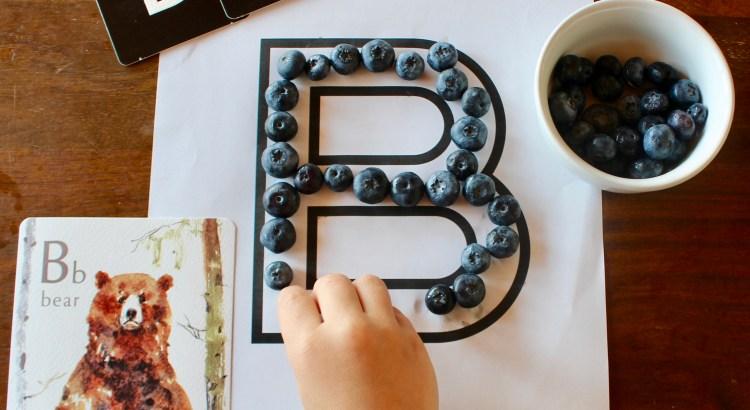 letter b preschool unit