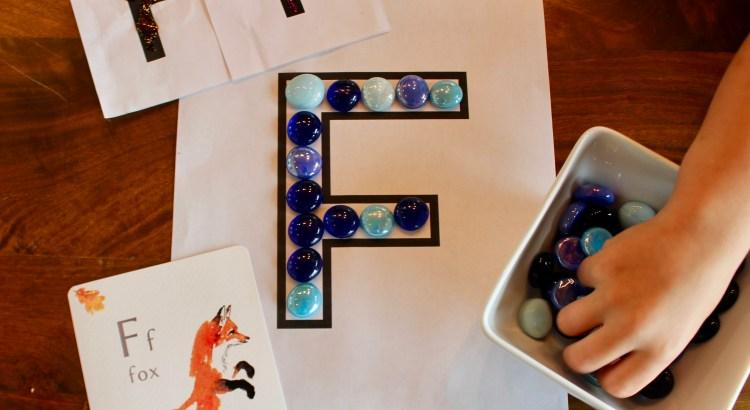 letter F preschool unit
