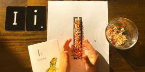 Letter I Sprinkles