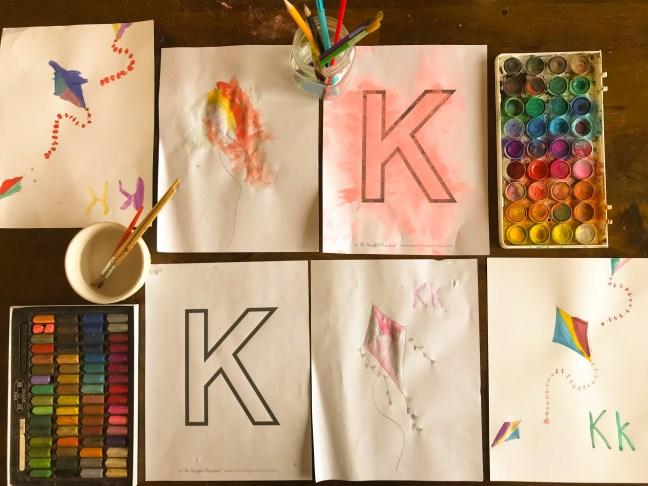 Kite Drawings