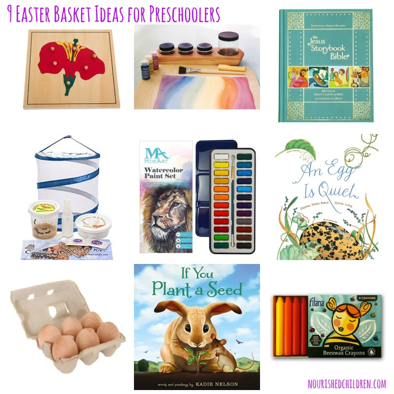9 Easter Basket Ideas for Preschoolers