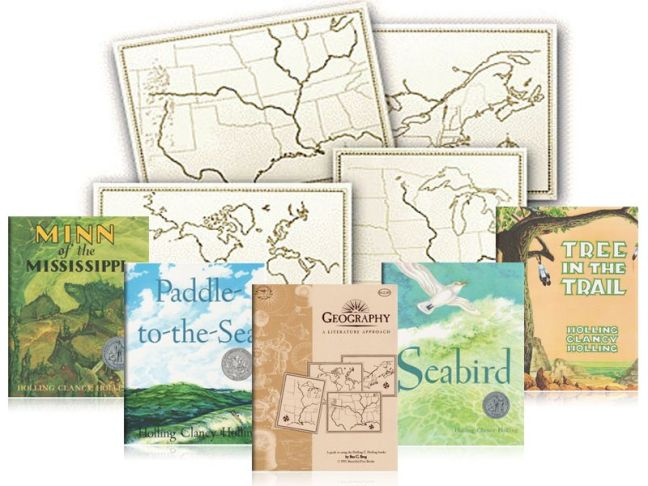 A Charlotte Mason Geography Lesson Pack