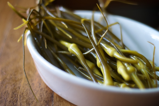 Fermented Garlic Scapes