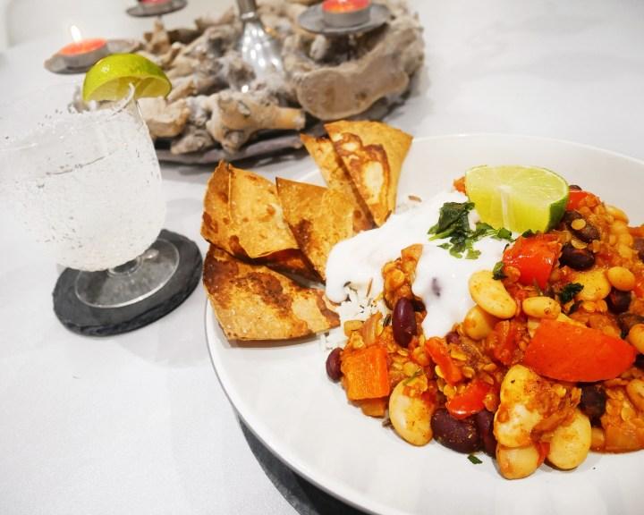 Vegan Bean Chilli: MEXICAN NIGHT