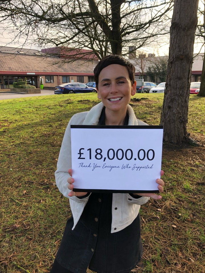 WOW – We raised £18,000
