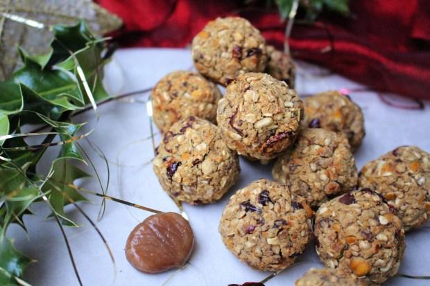 Chestnut and Cranberry Stuffing Falafels
