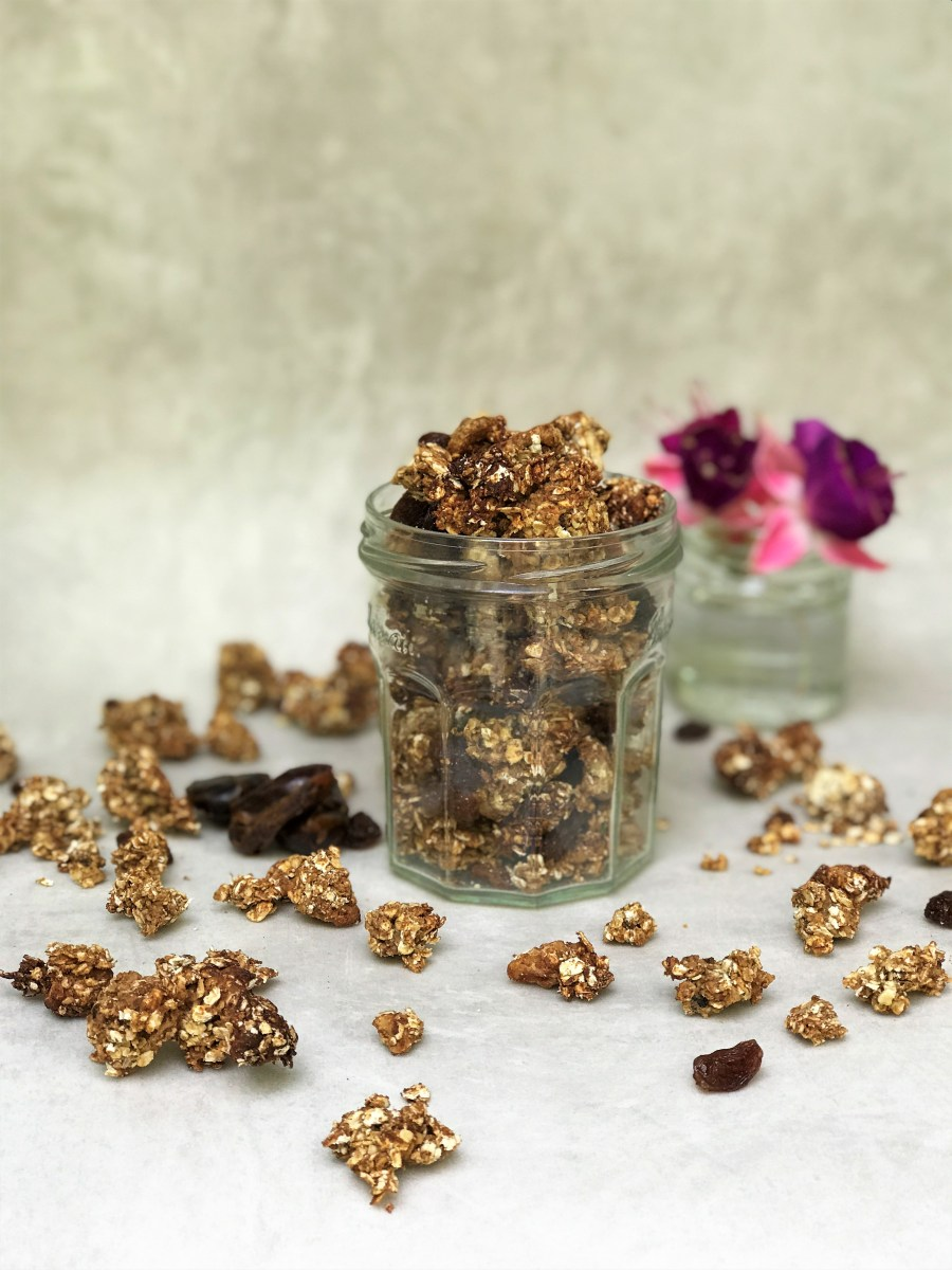 Chai Spiced Walnut Granola