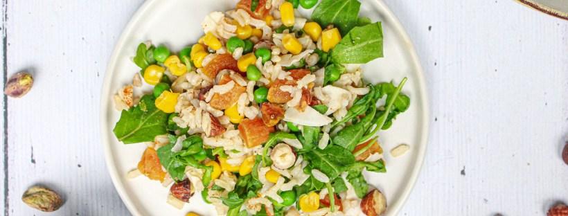 Nutty Rice Salad