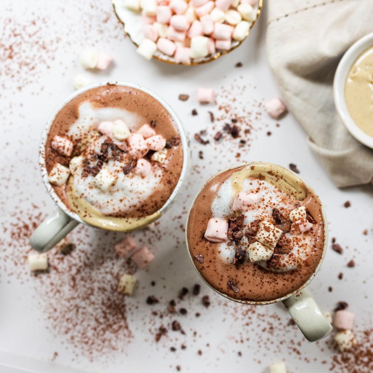 Cashew and Vanilla Hot Chocolate