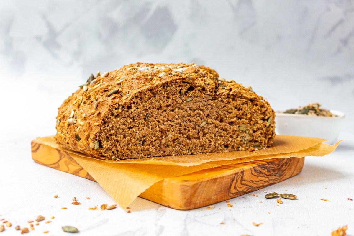 Seedy Wholemeal Soda Bread