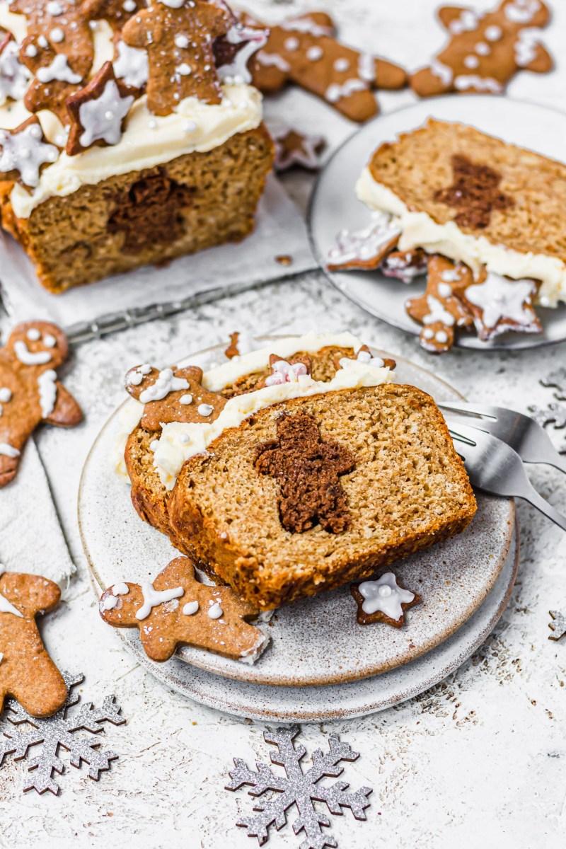 Hidden Gingerbread Banana Bread
