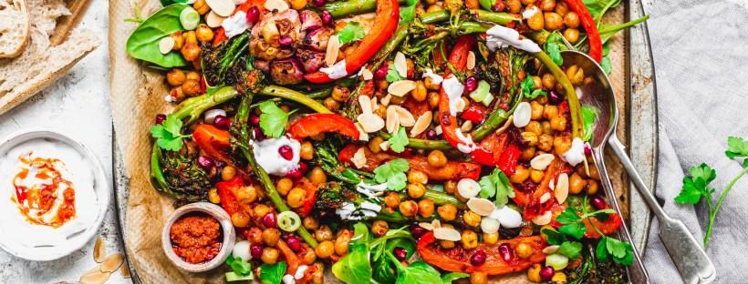 Vegan Chilli Pesto Traybake