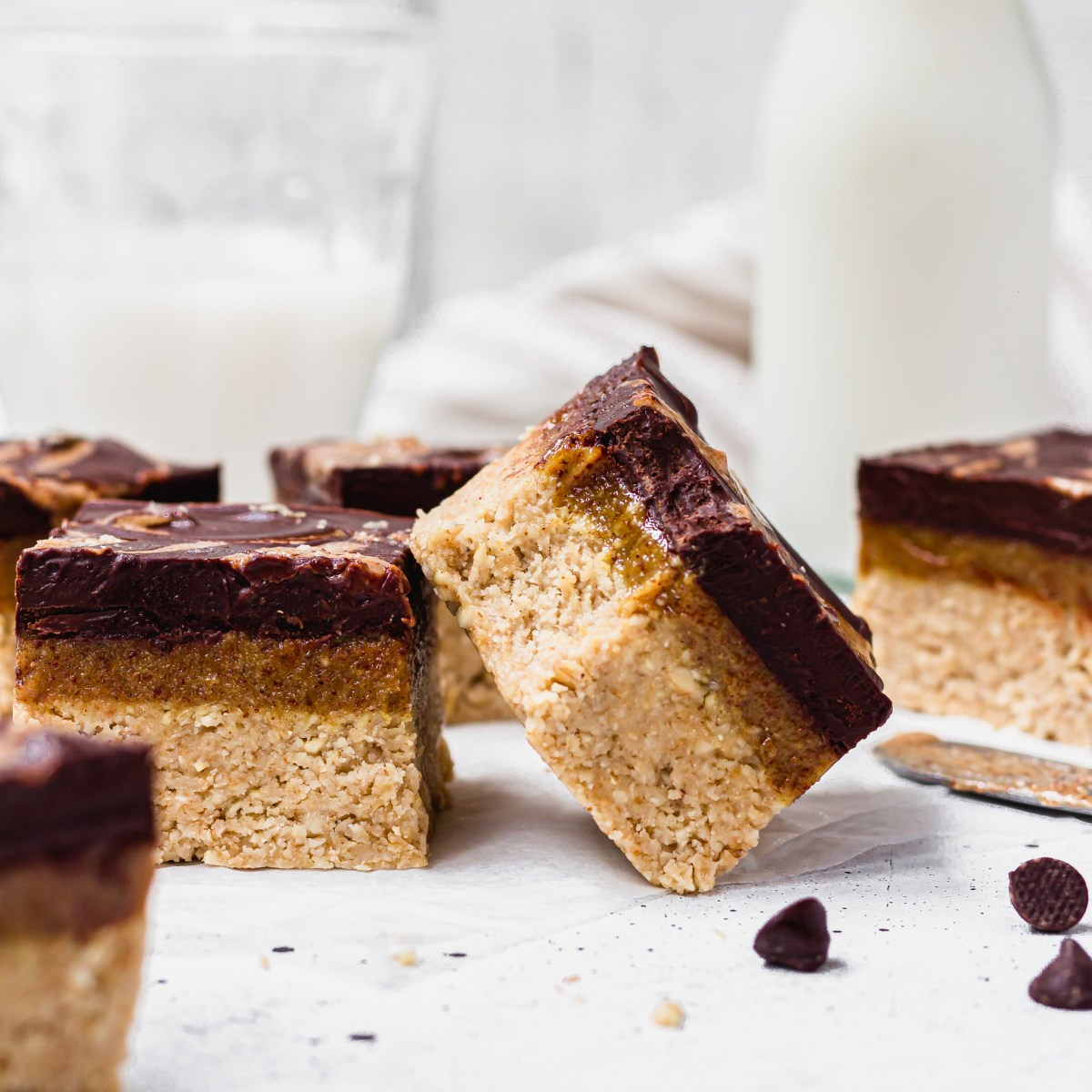 Ginger Chocolate Caramel Slices