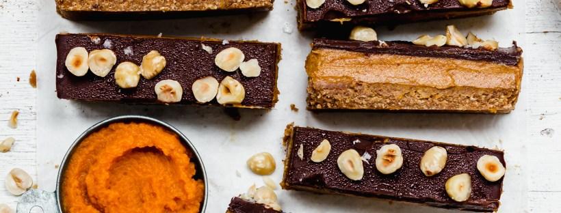 Pumpkin Spice Caramel Slices lanscape image