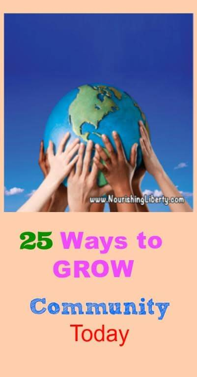 25 Ways to Grow Community Today