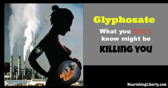 Glyphosate may be harming you