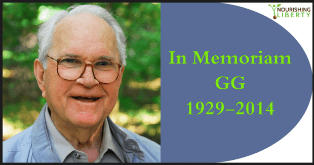 In memoriam of GG, Liz' grandfather, 1929-2014