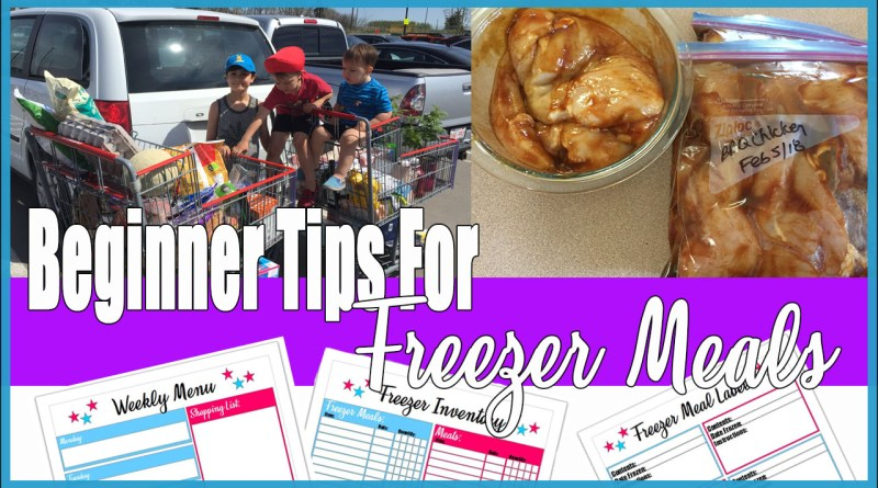 Beginner Tips For Easy Freezer Meal Cooking