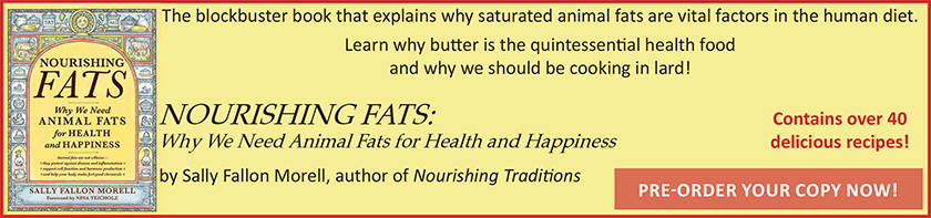 Pre-Order your copy of Nourishing Fats now!