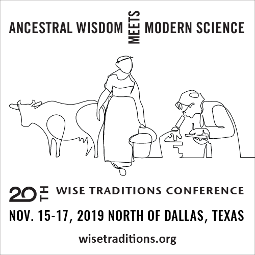 Wise Traditions 2019
