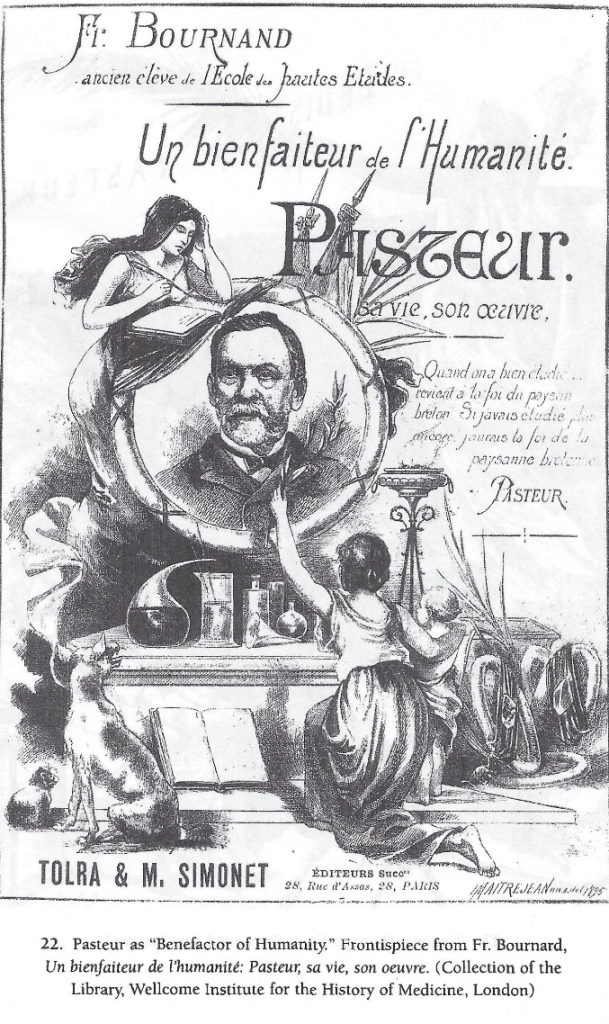 Promotional poster for Louis Pasteur