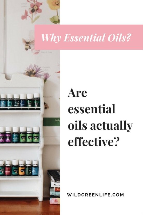 are essential oils actually effective