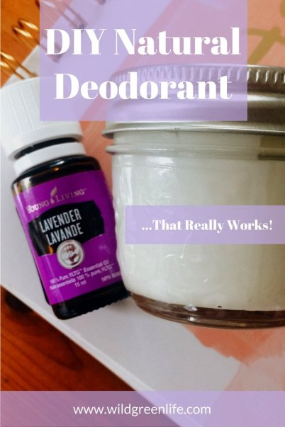 DIY Natural Deodorant...That Really Works!