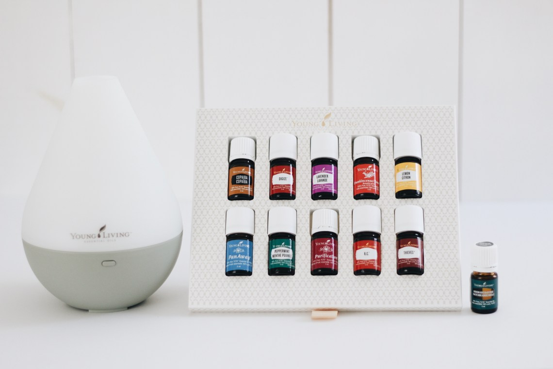 Young Living Premium Starter Kit with Dewdrop Diffuser