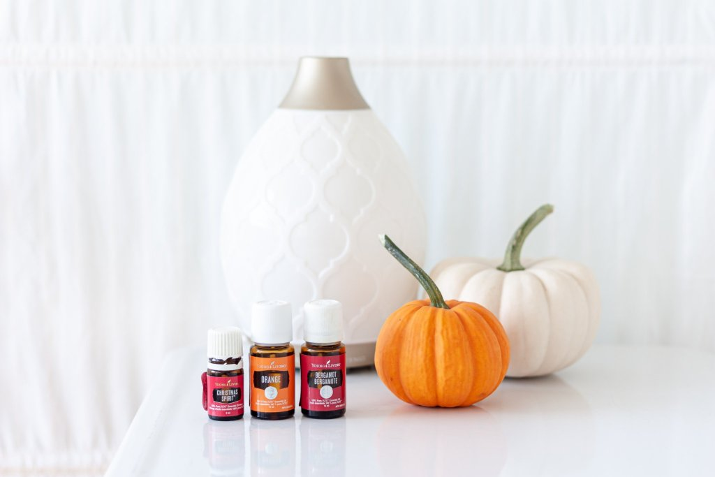 Cozy Fall Essential Oil Diffuser Blends that will make your home smell amazing! No chemicals, no synthetic perfumes, and no candles needed. Diffusing essential oils will make your home smell amazing using toxin-free, eco-friendly, and natural plant essences.