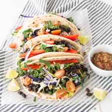 Black Bean Tacos | www.nourishnutritionblog.com | The Recipe Redux
