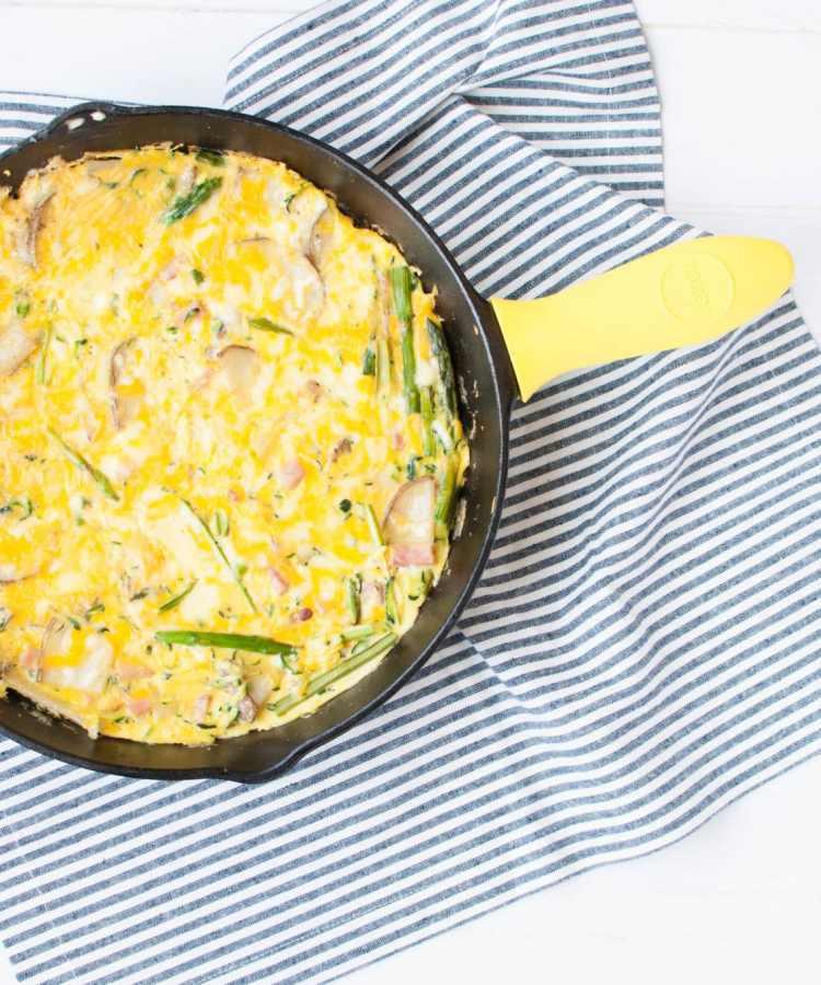 Spring Tortilla de Patata | The Recipe Redux | www.nourishnutritionblog.com