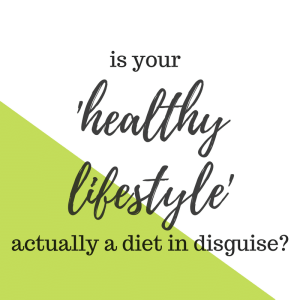 Is Your Healthy Lifestyle Actually a Restrictive Diet?