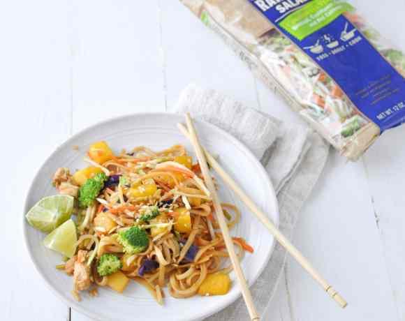 15 Minute Chicken Noodle Stir Fry