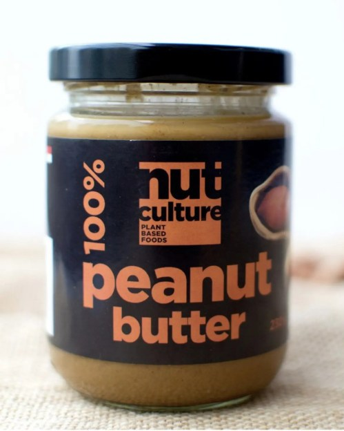 nut culture peanut butter