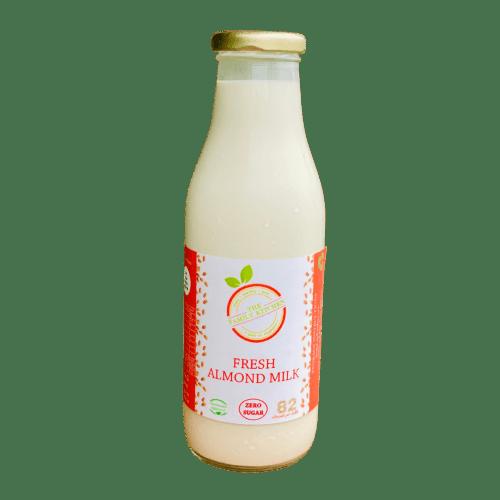 The Family Kitchen Fresh Almond Milk