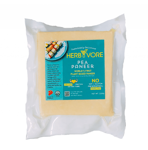 HerbYvore Pea Paneer/Fresh Cottage Cheese