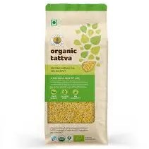 organic tattva yellow moong