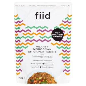 Fiid Hearty Chickpea Tagine (400g) - Vegan Gluten Free Dairy Free