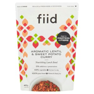 Fiid Aromatic Lentil & Sweet Potato Curry (400g) - Vegan Gluten Free Dairy Free