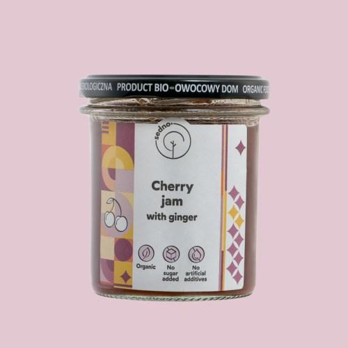 Seno Cherry jam with ginger