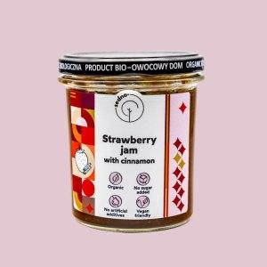 Sedno Strawberry jam with cinnamon